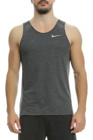 NIKE - Αμάνικη μπλούζα Nike σκούρο γκρι