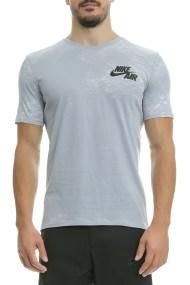 NIKE - Κοντομάνικη μπλούζα Nike γκρ με στάμπα