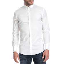 HAMAKI - Ανδρικό πουκάμισο HAMAKI λευκό