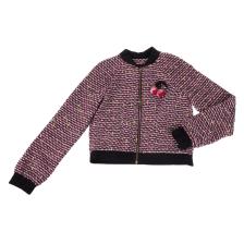 a5d84df4acd JUICY COUTURE KIDS - Παιδικό σακάκι JUICY COUTURE POM POM TWEED ροζ
