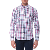 JUST POLO - Ανδρικό πουκάμισο Just Polo γαλάζιο image