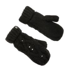 ROXY - Γυναικεία γάντια ενιαία ROXY SHOOTING STAR MITTENS μαύρα με στρας