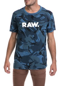 G-STAR - Ανδρικό t-shirt G-STAR RAW μπλε