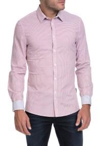 GUESS - Ανδρικό πουκάμισο ALLOV GUESS ροζ