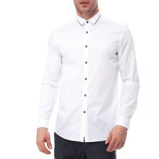 CK - Ανδρικό πουκάμισο CK λευκό