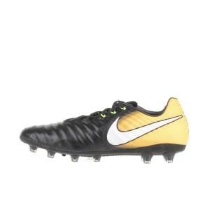NIKE - Ανδρικά ποδοσφαιρικά παπούτσια NIKE TIEMPO LEGACY III AG-PRO μαύρα-κίτρινα
