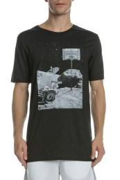 NIKE - Κοντομάνικη μπλούζα NIKE DRY MOONSHOT μαύρη
