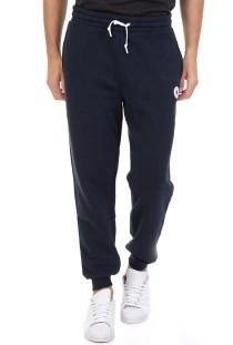 CONVERSE - Ανδρικό βαμβακερό παντελόνι φόρμας Converse μπλε