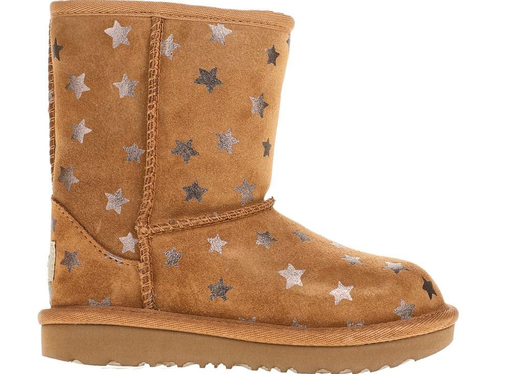 UGG - Κοριτσίστικα μποτάκια UGG μπεζ με αστέρια
