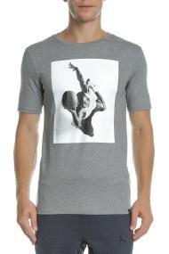 NIKE - Aνδρικό t-shirt Nike FLIGHT HERITAGE TEE μπλε με στάμπα