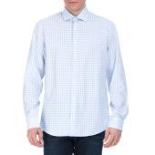 CK - Ανδρικό πουκάμισο CK ROME με καρό γαλάζιο-λευκό image