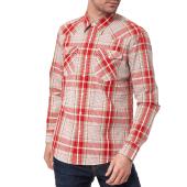 LEVI'S - Ανδρικό πουκάμισο Levi's BARSTOW WESTERN καρό κόκκινο image