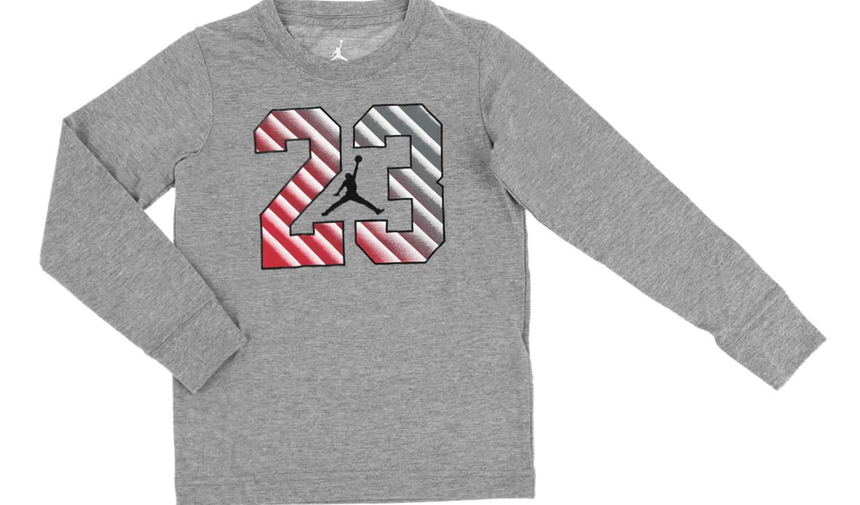 NIKE KIDS - Αγορίστικη φούτερ μπλούζα JDB 23 STEP γκρι