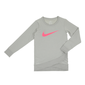 7dc3e0ece45 NIKE KIDS - Παιδική μακρυμάνικη μπλούζα NIKE KIDS Dri-FIT SPORT γκρι