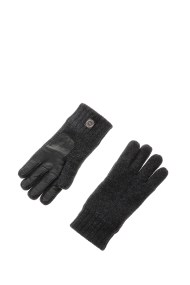 UGG - Ανδρικά γάντια UGG γκρι