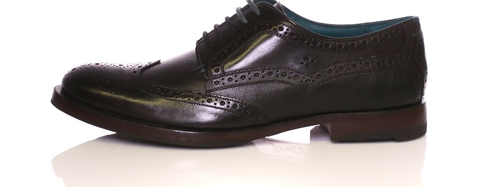 TED BAKER - Ανδρικά παπούτσια Oxford Senape Ted Baker μαύρα