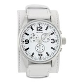 OOZOO - Ανδρικό ρολόι OOZOO λευκό image