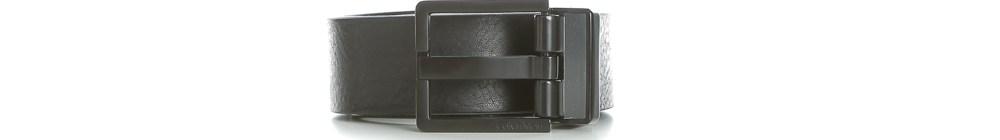 CALVIN KLEIN JEANS - Ανδρική δερμάτινη ζώνη Calvin Klein Jeans MONOCHROME μαύρη