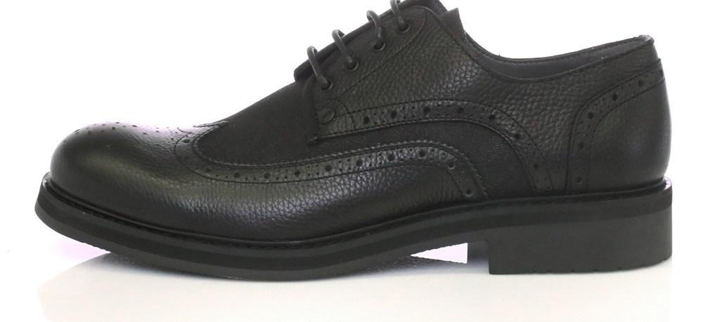 G-STAR - Ανδρικά παπούτσια WARTH BROGUE μαύρα