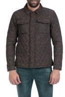 SCOTCH & SODA - Ανδρικό μπουφάν Lightweight quilted shirt jack καφέ image