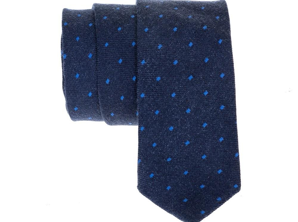 SCOTCH & SODA - Ανδρική γραβάτα Knitted tie in wool quality