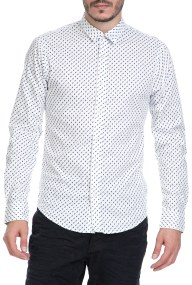 SCOTCH & SODA - Ανδρικό πουκάμισο SCOTCH & SODA λευκό-μπλε