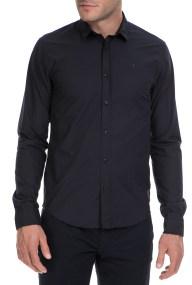SCOTCH & SODA - Ανδρικό πουκάμισο SCOTCH & SODA μαύρο