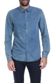 SCOTCH & SODA - Ανδρικό πουκάμισο SCOTCH & SODA μπλε