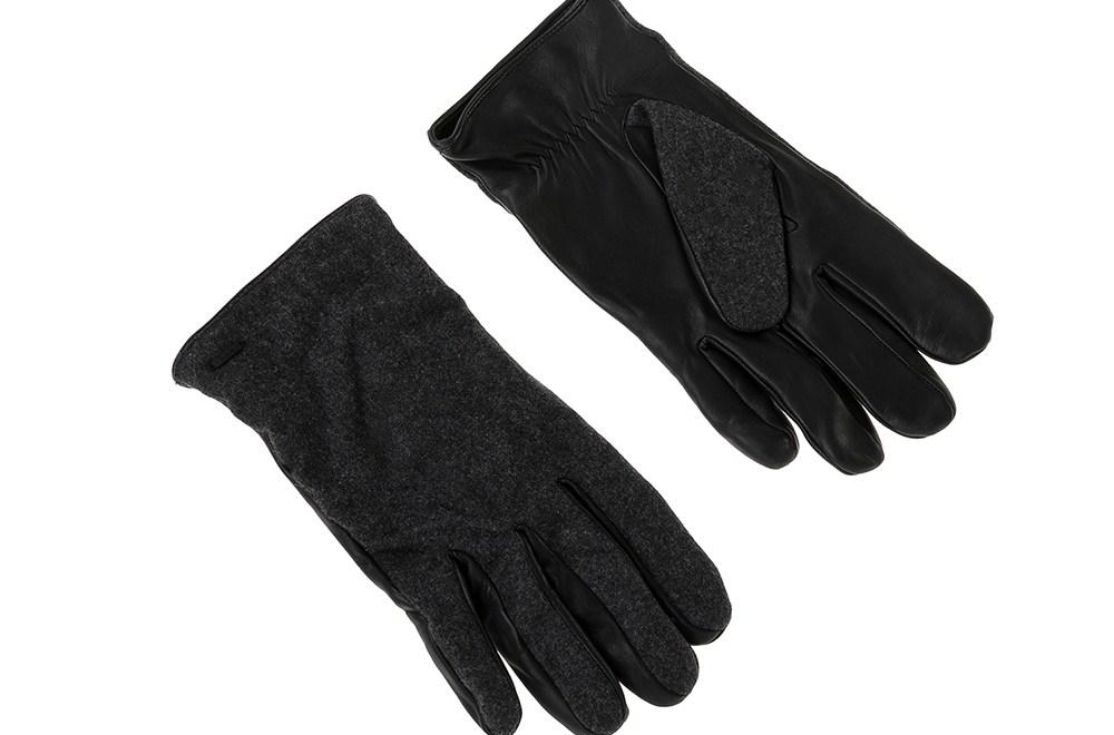 SCOTCH & SODA - Ανδρικά γάντια SCOTCH & SODA μαύρα
