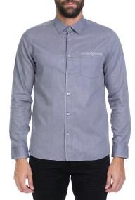 TED BAKER - Ανδρικό πουκάμισο IFEL LS TED BAKER μπλε