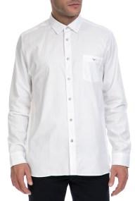 TED BAKER - Ανδρικό πουκάμισο IFEL TED BAKER λευκό