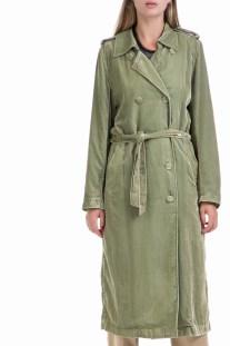 SCOTCH   SODA - Γυναικεία καμπαρντίνα MAISON SCOTCH πράσινη c7c17a2339e
