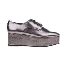 CALVIN KLEIN JEANS - Γυναικεία παπούτσια CALVIN KLEIN JEANS NATALYE ασημί