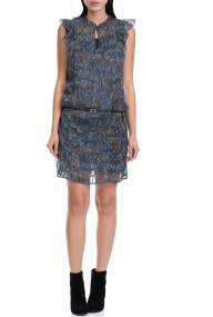GARCIA JEANS - Γυναικείο φόρεμα GARCIA JEANS μπλε-καφέ