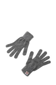 FRANKLIN & MARSHALL - Unisex γάντια FRANKLIN & MARSHALL γκρι