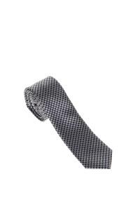 SSEINSE - Αντρική γραβάτα CRAVATTA SSEINSE μαύρη-γκρι