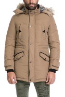 GUESS - Αντρικό μπουφάν CONTEMPORARY PARKA GUESS καφέ image