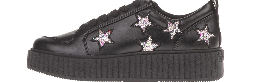JUICY COUTURE - Γυναικεία sneakers DAISY JUICY COUTURE μαύρα