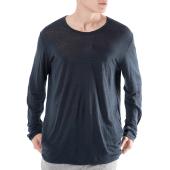 AMERICAN VINTAGE - Ανδρική μακρυμάνικη μπλούζα AMERICAN VINTAGE μπλε