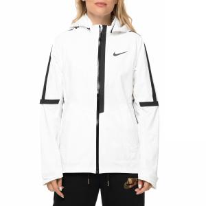 NIKE - Γυναικείο αθλητικό μπουφάν NIKE AROSHLD JKT HD λευκό