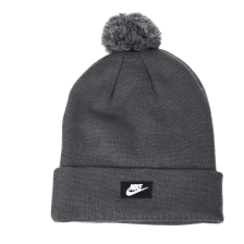 NIKE - Unisex σκούφος NIKE BEANIE RED SSNL γκρι