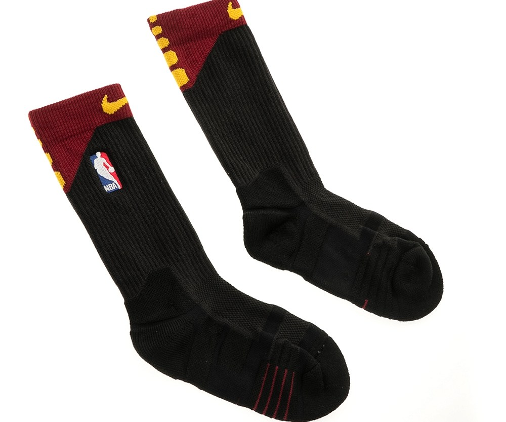 NIKE - Ανδρικές κάλτσες NIKE NBA U NK ELT QUICK CREW-ALT μαύρες