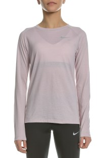 NIKE - Γυναικεία μακρυμάνικη μπλούζα Nike TAILWIND ροζ