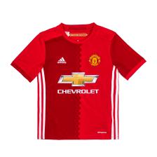 adidas - Παιδική ποδοσφαιρική μπλούζα adidas Manchester United κόκκινη
