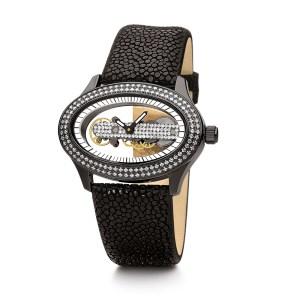 FOLLI FOLLIE - Γυναικείο ρολόι FOLLI FOLLIE PURITY μαύρο