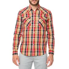 LEVI'S - Ανδρικό μακρυμάνικο πουκάμισο Levi's BARSTOW WESTERN καρό