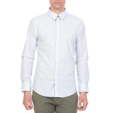 GUESS - Ανδρικό μακρυμάνικο πουκάμισο VENICE GUESS γαλάζιο