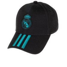 adidas Performance - Καπέλο adidas REAL MADRID 3-STRIPES CAP μαύρο