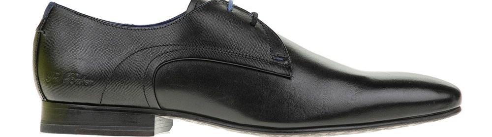 TED BAKER - Ανδρικά παπούτσια PEAIR μαύρα