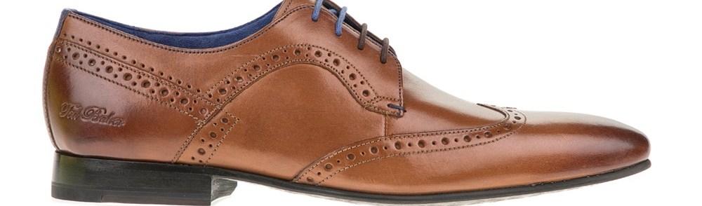TED BAKER - Ανδρικά παπούτσια OLLIVUR καφέ
